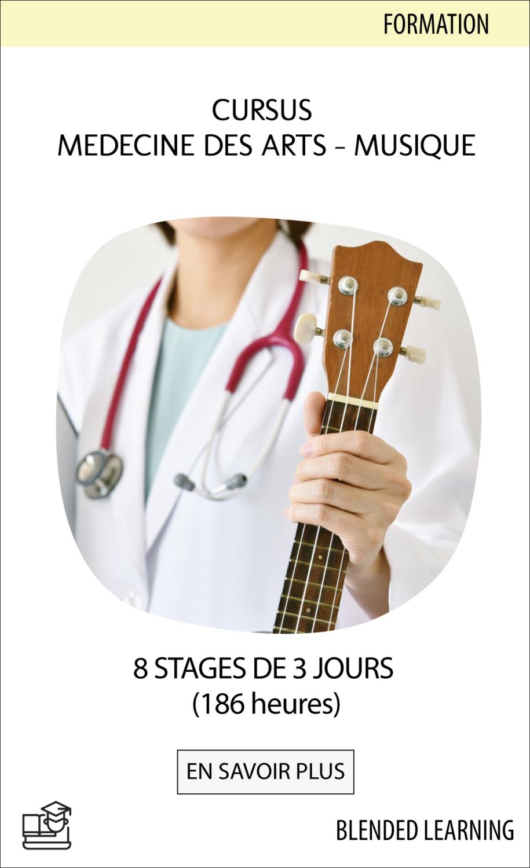 Cursus Médecine des Arts-musique : 8 stages de 3 jours