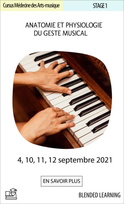 Anatomophysiologie du geste musical